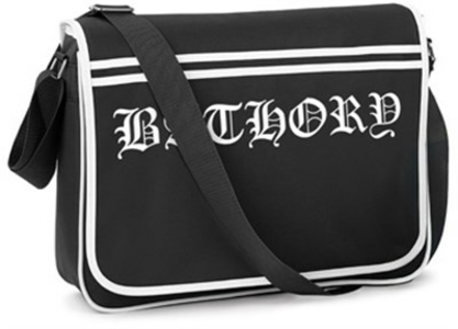 Idee regalo Bathory. Logo Retro Messenger Bag Plastic Head