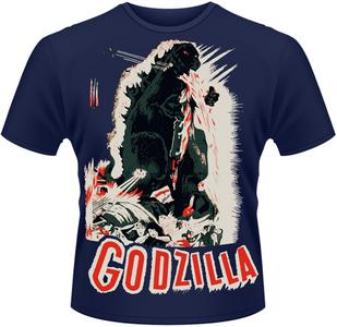 Idee regalo T-Shirt uomo Godzilla. Poster Plastic Head