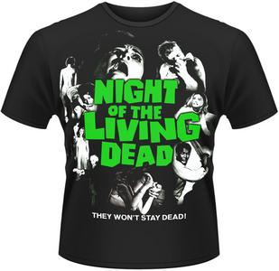 Idee regalo T-Shirt uomo Night of the Living Dead Poster Plastic Head