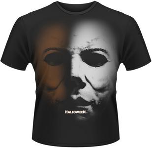 Idee regalo T-Shirt uomo Halloween Mask Jumbo Print Plastic Head