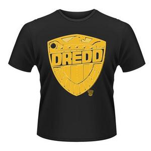 Idee regalo T-Shirt unisex 2000ad Judge Dredd. Badge Plastic Head