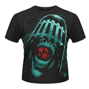 Idee regalo T-Shirt unisex 2000ad Judge Death. Judge Death Plastic Head