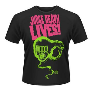 Idee regalo T-Shirt unisex 2000ad Judge Death. Judge Death Lives! Plastic Head