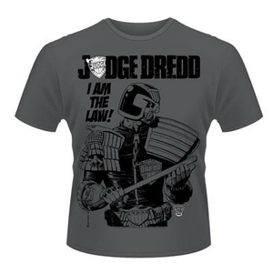 Idee regalo T-Shirt unisex 2000ad Judge Dredd. I Am the Law 3 Plastic Head