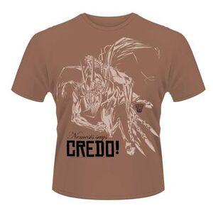 Idee regalo T-Shirt unisex 2000ad Nemesis the Warlock. Credo Plastic Head