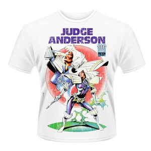 Idee regalo T-Shirt unisex 2000ad Judge Anderson. Judge Anderson 2 Plastic Head