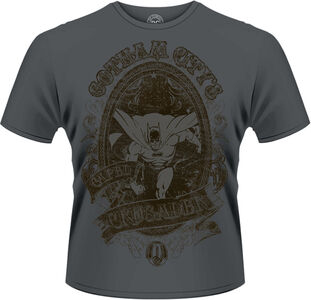 Idee regalo T-Shirt uomo Batman Gotham City. DC Originals Plastic Head
