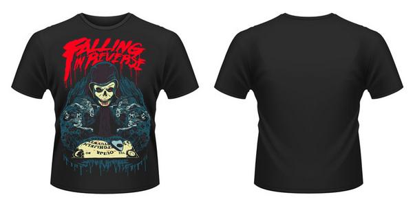 Idee regalo T-Shirt unisex Falling In Reverse. Ouija Board Plastic Head
