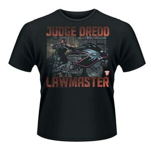 Idee regalo T-Shirt unisex 2000ad Judge Dredd. Lawmaster Plastic Head