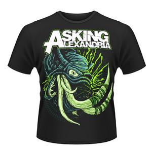 Idee regalo T-shirt unisex Asking Alexandria. Tusks Plastic Head