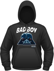 Idee regalo Felpa con cappuccio uomo Angry Birds Star Wars. Bad Boy Plastic Head