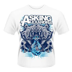 T-shirt unisex Asking Alexandria. Bear Skull