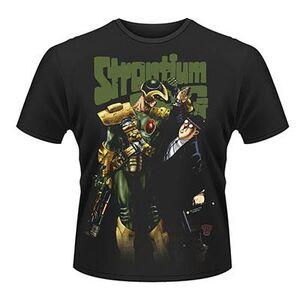 Idee regalo T-Shirt unisex 2000ad Strontium Dog. Banker Plastic Head