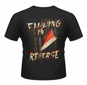 Idee regalo T-Shirt unisex Falling in Reverse. Here's Ronnie Front & Back Print Plastic Head 1