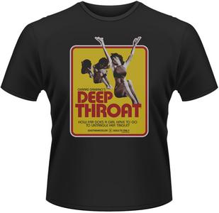 Idee regalo T-Shirt uomo Deep Throat Poster Plastic Head