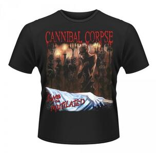 T-Shirt unisex Cannibal Corpse. Tomb of the Mutilated Front & Back Print