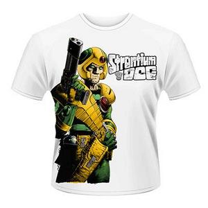 Idee regalo T-Shirt unisex 2000ad Strontium Dog. Gun Plastic Head