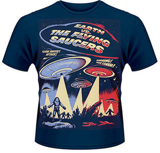 T-Shirt uomo Earth Vs. the Flying Saucers