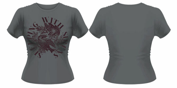 Idee regalo T-Shirt donna Sleeping With Sirens. For The Birds Plastic Head