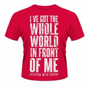 T-Shirt unisex Sleeping with Sirens. World
