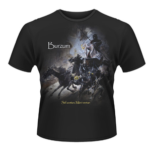 Idee regalo T-shirt unisex Burzum. Sol Austan, Mani Vestan Plastic Head