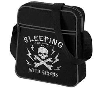Borsa a Tracolla Sleeping with Sirens. Logo Retro
