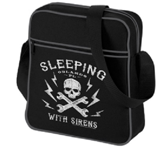 Idee regalo Borsa a Tracolla Sleeping with Sirens. Logo Retro Plastic Head