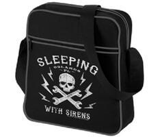 Borsa a Tracolla Sleeping with Sirens. Logo Retro