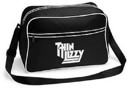 Idee regalo Borsa a Tracolla Thin Lizzy. Logo Retro Plastic Head