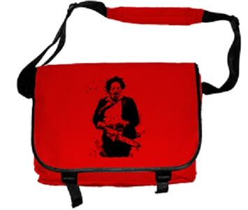 Idee regalo Borsa a Tracolla Plan 9. Texas Chainsaw Massacre. Leatherface Plastic Head