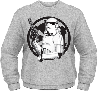 Idee regalo Felpa uomo Star Wars. Trooper Plastic Head
