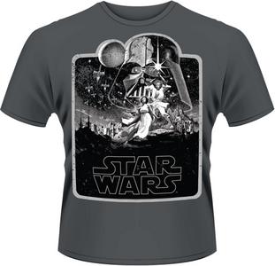 Idee regalo T-Shirt uomo Star Wars. A New Hope Plastic Head