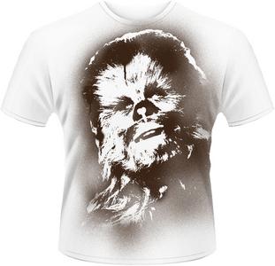 Idee regalo T-Shirt uomo Star Wars. Chewy Plastic Head