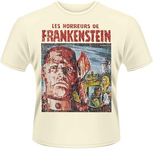 Idee regalo T-Shirt uomo Horror of Frankenstein Plastic Head