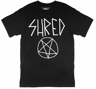 Idee regalo T-Shirt Unisex Kill Brand. Shred For Life Plastic Head