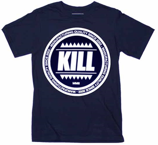 Idee regalo T-Shirt Unisex Kill Brand. Swag Logo Circle Plastic Head