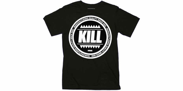Idee regalo T-Shirt Unisex Kill Brand. Swag Logo Circle Plastic Head