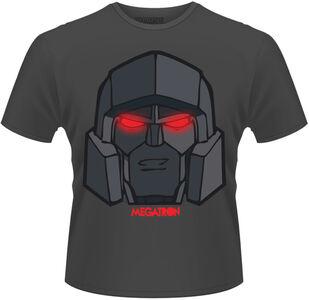 Idee regalo T-Shirt uomo Transformers. Megatron Eyes Plastic Head