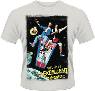 T-Shirt uomo Bill and Ted's Excellent Adventure. Poster