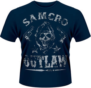T-Shirt uomo Sons of Anarchy. Outlaw
