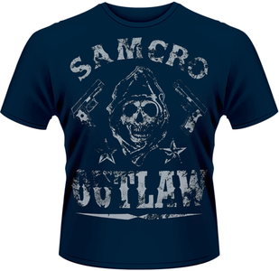 Idee regalo T-Shirt uomo Sons of Anarchy. Outlaw Plastic Head