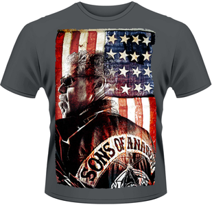 Idee regalo T-Shirt uomo Sons of Anarchy. President Plastic Head