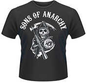 Idee regalo T-Shirt uomo Sons of Anarchy. Classic Plastic Head