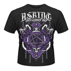Idee regalo T-shirt unisex Asking Alexandria. Demonic Plastic Head