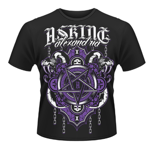 Idee regalo T-shirt unisex Asking Alexandria. Demonic Plastic Head