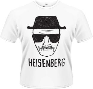 Idee regalo T-Shirt uomo Breaking Bad. Heisenberg Sketch Plastic Head