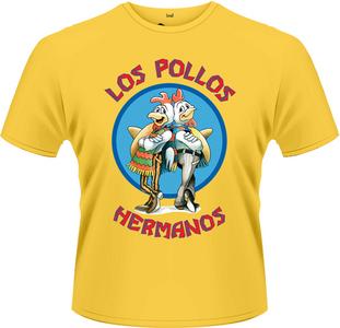 Idee regalo T-Shirt uomo Breaking Bad. Los Pollos Hermanos Plastic Head