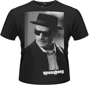 Idee regalo T-Shirt uomo Breaking Bad. Heisenberg Plastic Head