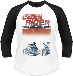 Idee regalo T-Shirt a maniche lunghe uomo Easy Rider. Logo Plastic Head