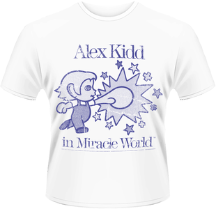 Idee regalo T-Shirt uomo Sega. Alex Kidd in Miracle World Plastic Head